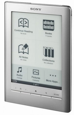 Sony Reader PRS 600 Touch Edition