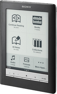 Обзор Sony Reader PRS-650 Touch Edition