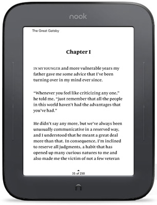 Новый Barnes & Noble Nook 2