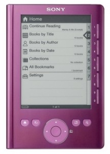 Обзор Sony Reader PRS-300 Pocket Edition